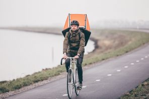 Eneco introduceert innovatieve Windrugzak om sneller te kunnen fietsen