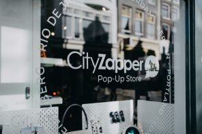 CityZapper pop-up store
