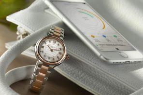 Eerste stijlvolle smartwatch voor vrouwen
