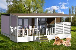 Vacanceselect introduceert glampingvakantie met en voor honden