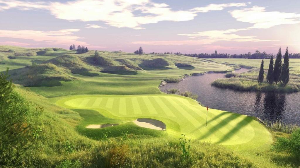 Golf Park Rotterda Hole 3