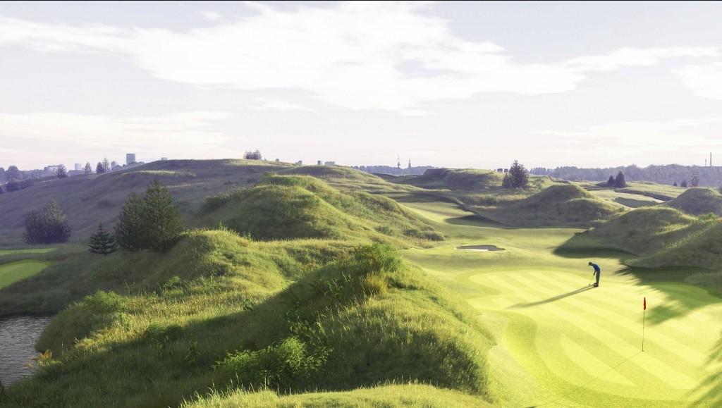 Golf Park RotterdamHole 2