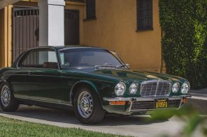 De elegante Jaguar XJ Coupe