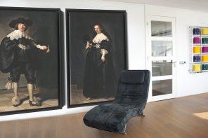 Rembrandt's Oopjen en Marten bij u aan de muur?