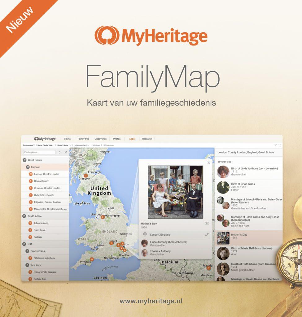 MyHeritage FamilyMap