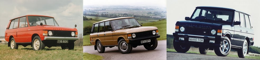 Range Rover Classic 25 year celebration