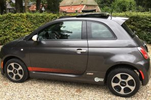 ClassyDriving: full electric Fiat 500 E