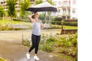 Slimme paraplu houdt onze Olympische sporters koel