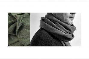 Zachte lange sjaals van het nieuwe mannenmerk Luiz Lenco