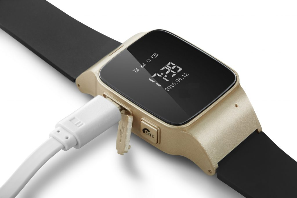 one2track GPS horloge voor ouderen