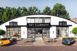 Clubhuys Naarden nieuw concept voor klassieke auto's, kunst én werkplekken