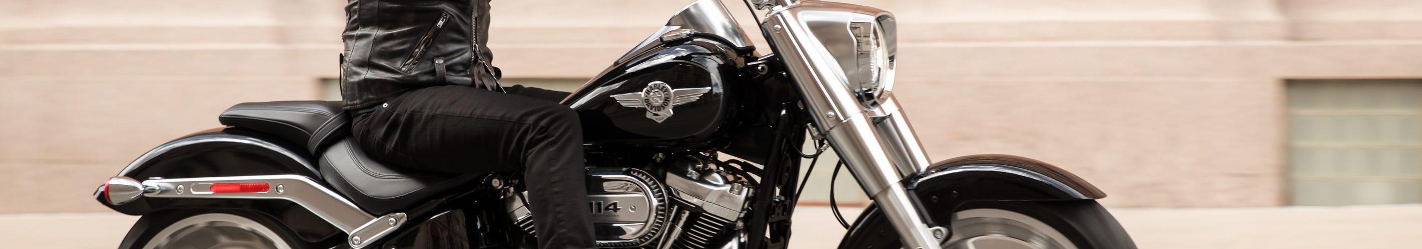 motorrijder-harley