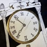 getekende-klok-goud