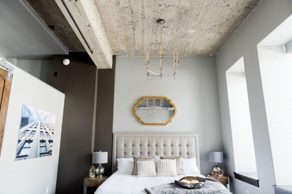 industrieel-slaapkamer