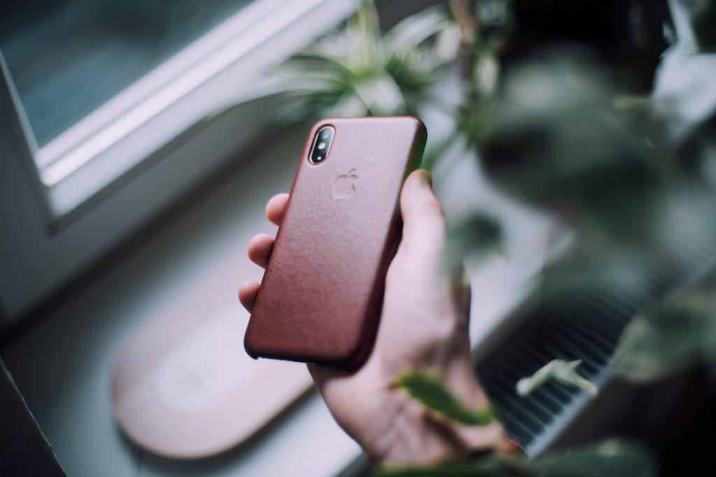 iphone-hoesje-bruin