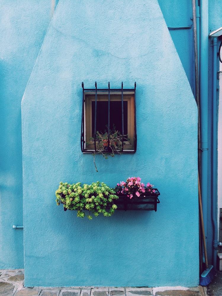 bloembakken-raam