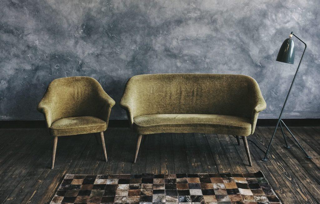 donkergroene-stoel-meubels