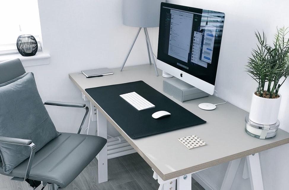 grijs-bureau