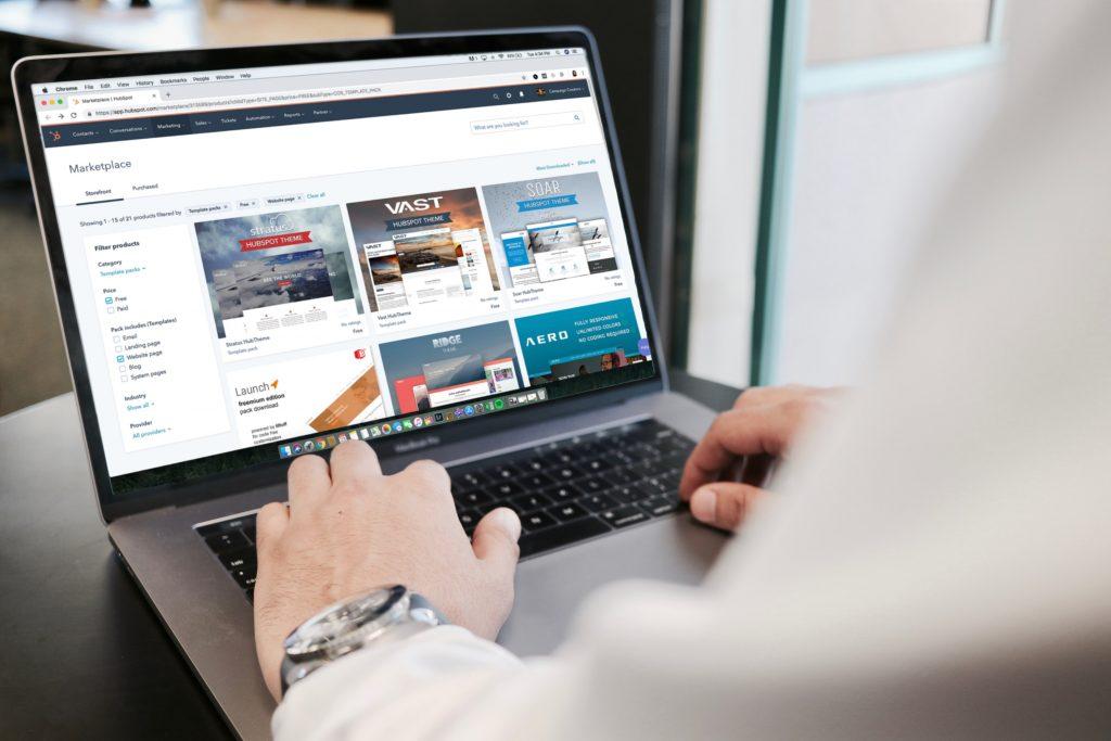 website-surfen