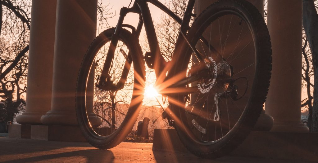 fietsen-zonsopgang