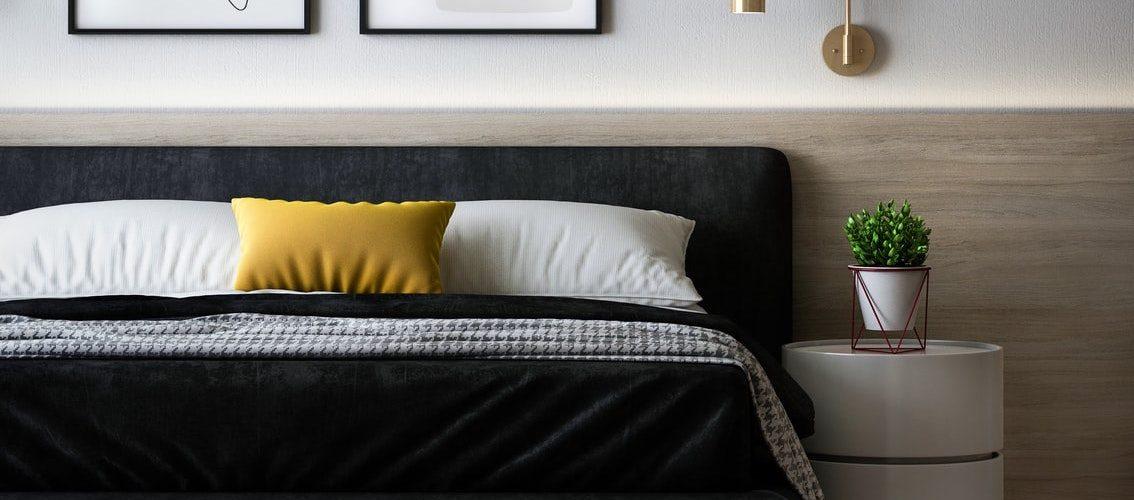 minimalistische-moderne-slaapkamer