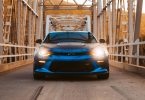 blauwe-sport-auto