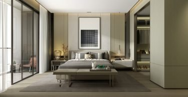 licht-groene-slaapkamer-modern