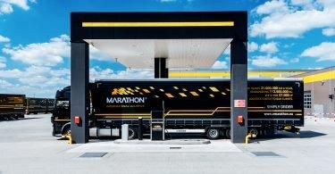 marathon-vrachtwagen