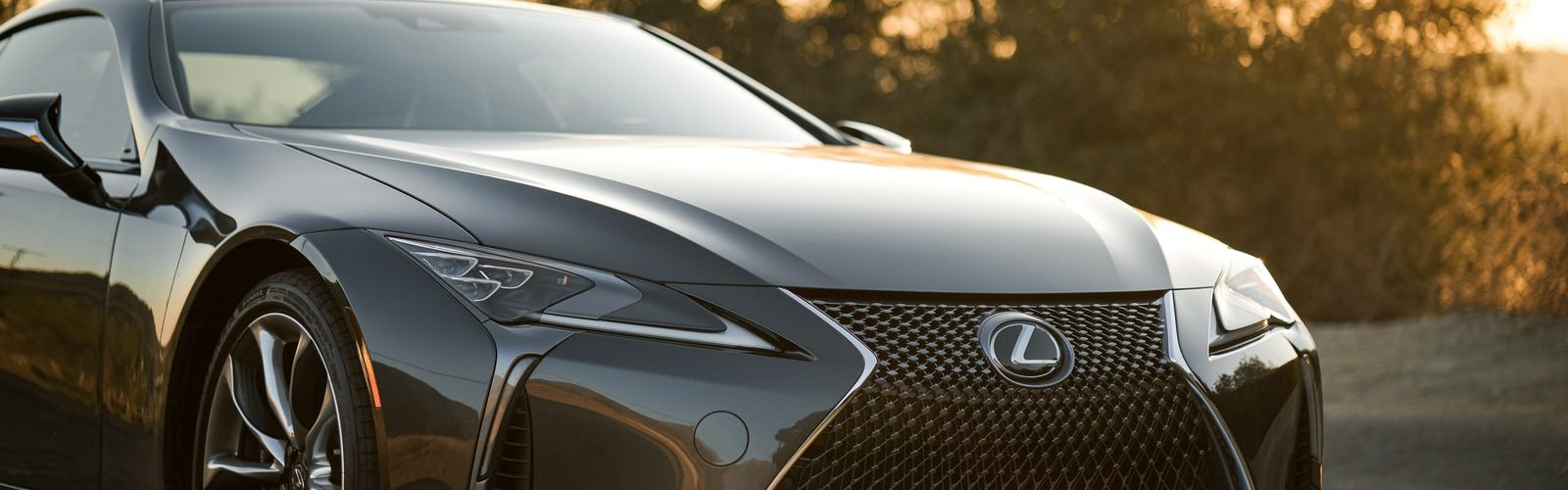 Lexus LC 500 zwart