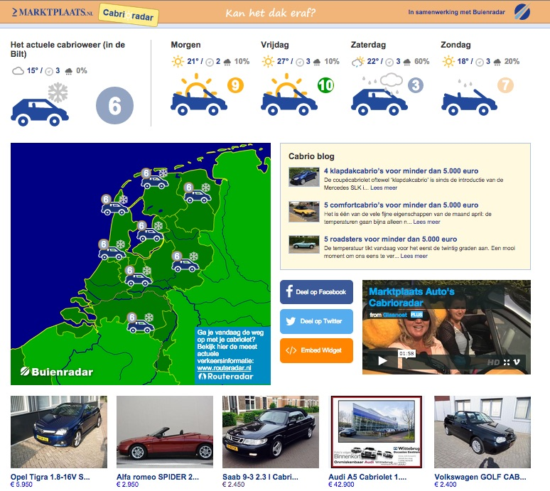 Cabrioradar.nl